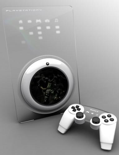 PlayStation bílý