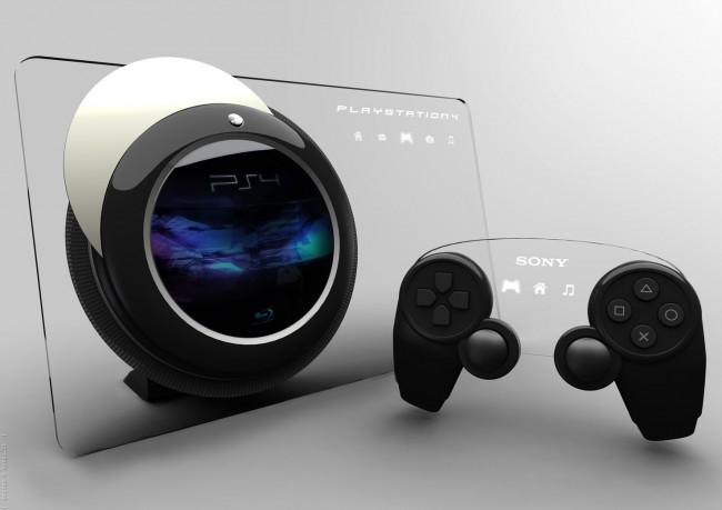 PlayStation 4 a ovladač