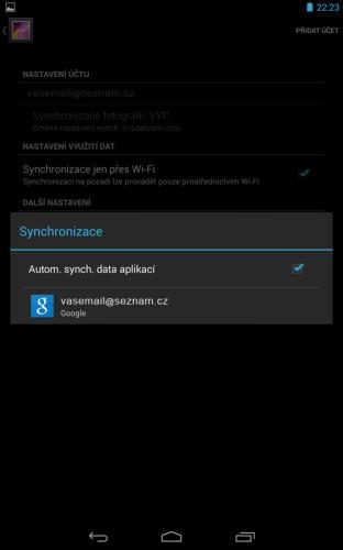 Automatická synchronizace