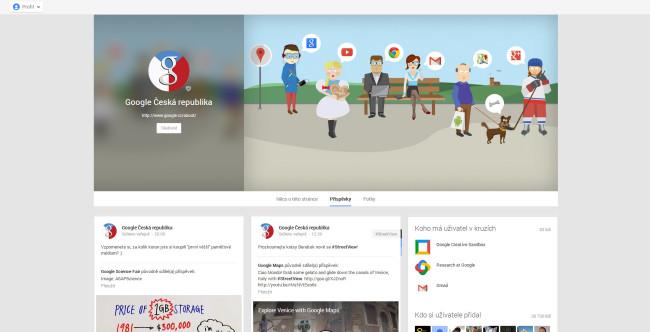 Novy vzhled profilu na Google+