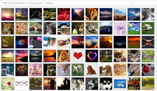 Wordpress 4.0 nová galerie